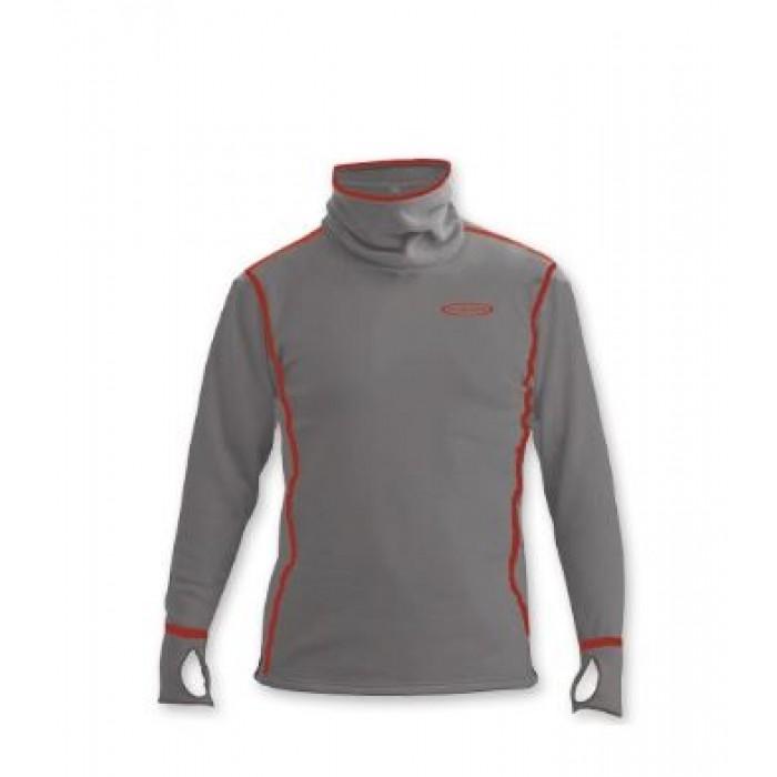 Apatiniai marškinėliai Vision Power Hoodie Top Grey