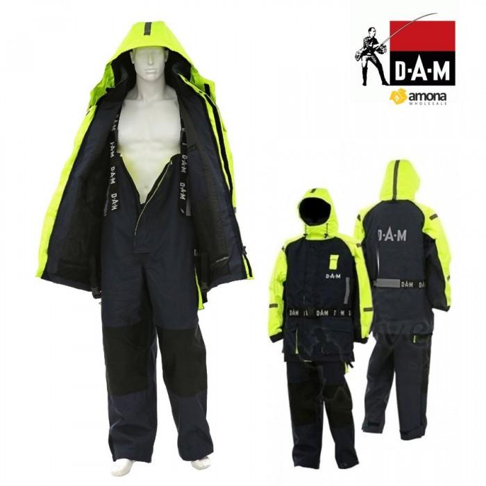 Neskęstantis kostiumas DAM Safety Boat Yellow/Black