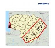 168 Lietuvos ežerų batimetrinis žemėlapis