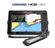 Echolotas Lowrance HDS-12 LIVE su Active Imaging 3-1 sonaru