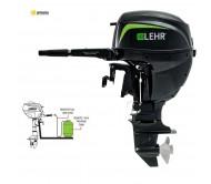 Propano dujų valties variklis LEHR LP15 ES su baterija