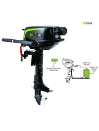 Propane gas outboard engine LEHR LP5 L