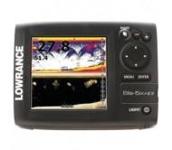 Echolotas Lowrance Elite-5x HDI 83/200 kHz 455-800 kHz