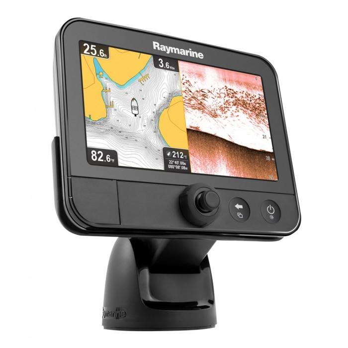 """Raymarine Dragonfly 7"""" Echolotas GPS su įmontuotu DownVision"""