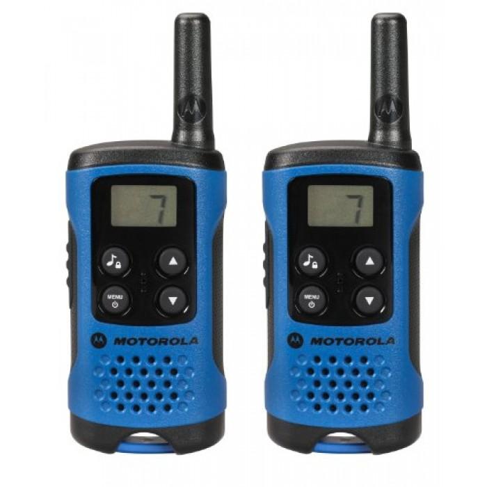 Nešiojama radijo stotelė Motorola TLKR T41 mėlyna, PMR, 8k.