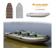 Pripučiama motorinė valtis KOLIBRI SL KM-400DSL