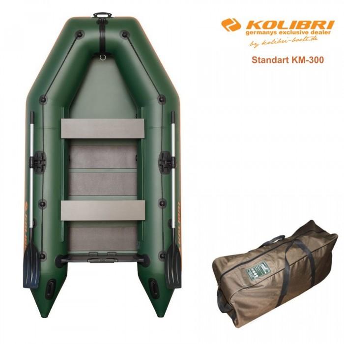 Pripučiama motorinė valtis KOLIBRI Standart KM-300