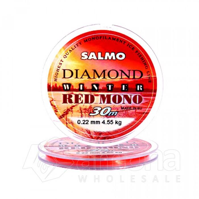 Valas Salmo Diamond Winter Red Mono 30m