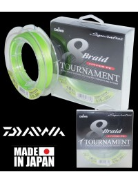 Pintas valas Daiwa Tournament 8 0.20 300m Chartreuse