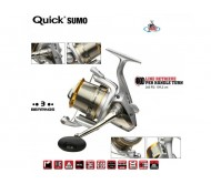 Ritė DAM Quick Sumo 360FD Feeder 2+1BB +spool Wormshaft