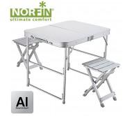 Stalas su kėdėmis Norfin Boren NF-20309
