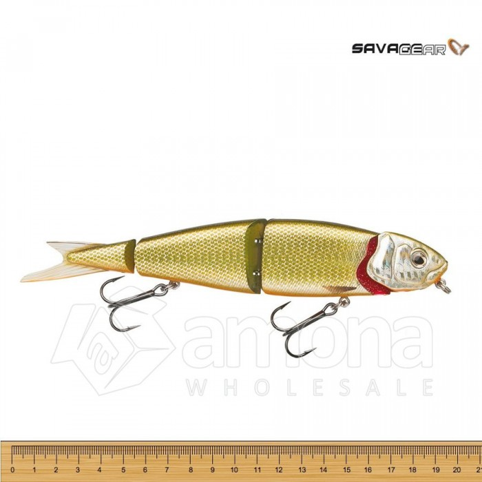 Vobleris Savage Gear 4Play Swim & Jerk Dirty Roach