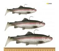 Vobleris Savage Gear 3D Trout Rattle Shad Rainbow Trout