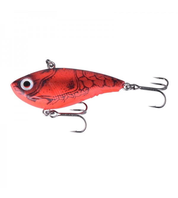 TPE Soft Vibes 6,6 cm 22g.  S 07-Red Crayfish
