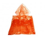Apsiaustas nuo lietaus L dydis, oranžinis