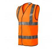 Atspindinti liemenė HV Bright Oranžinė