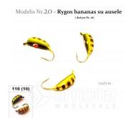Avižėlė W SPIDER Nr.20 Rygos bananas su ausele - 16