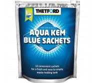 Chemikalai tualetams Thetford Aqua Kem® Blue Sachets (Bag) 12 tablečių