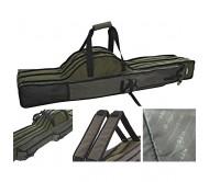 Dėklas meškerėms DAM Rod bag 3 compart. 1.70m Padded-Reinforced