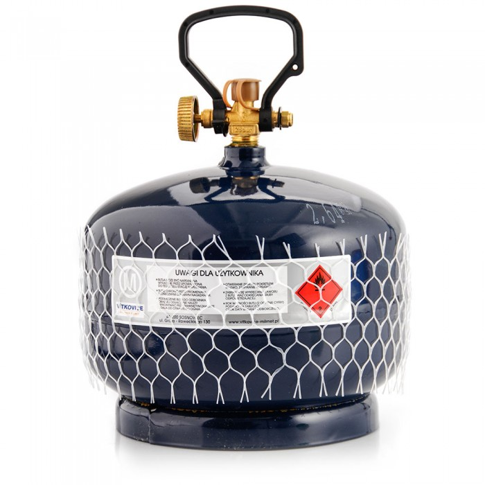 Dujų balionas 2 KG, 4,8 L, 215 mm