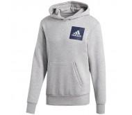 Džemperis adidas Essentials Chest Logo Pullover Hood Fleece B45729