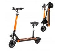 """Elektrinis paspirtukas W-TEC Skootie Pro II 8"""" su sėdyne - Orange"""
