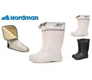 Guminiai batai NordMan Silla 629156 MOTERIŠKI, BALTI
