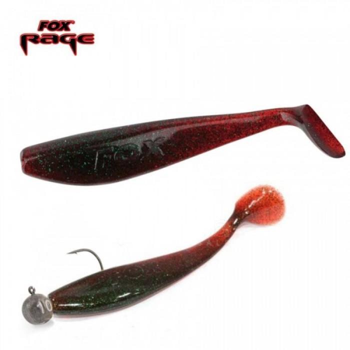 Guminukas FOX RAGE Zander Pro Shad 10cm Red Wine