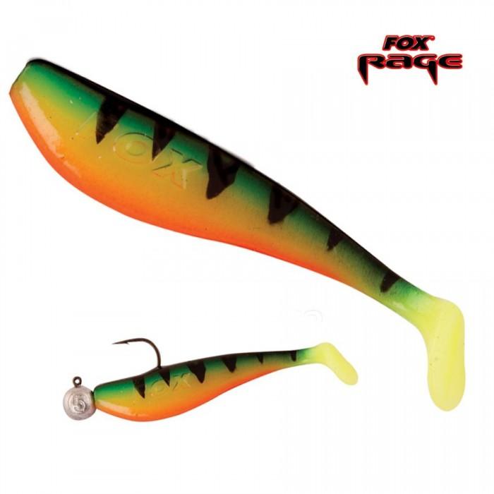 Guminukas FOX RAGE Zander Pro Shad 12cm Fire Tiger