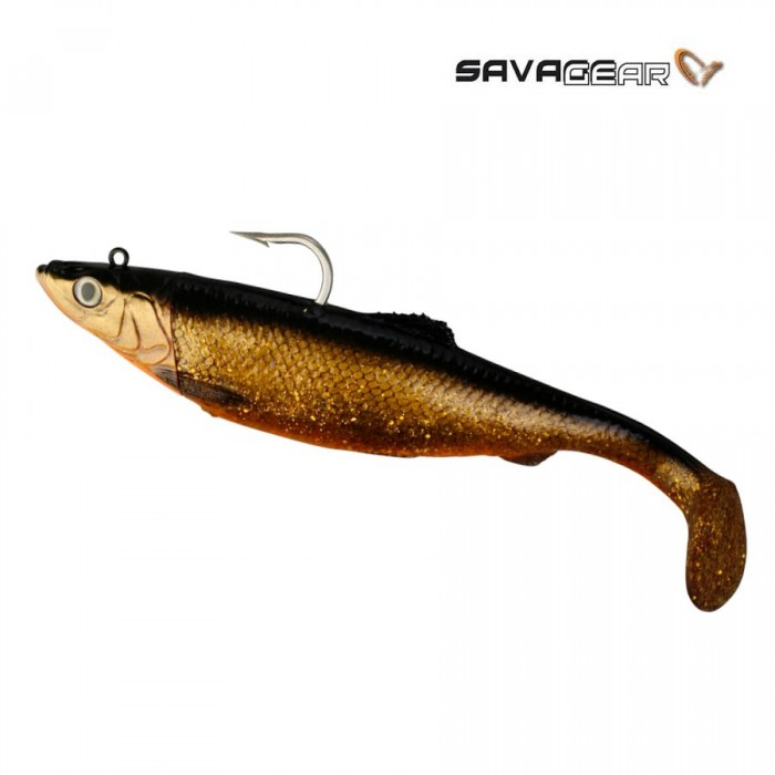 Guminukas SG 3D Herring Big Shad 32cm 560g Red Fish Gold