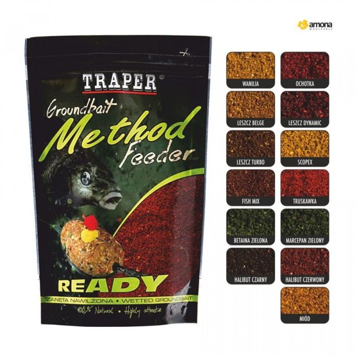 Jaukas Traper Method Feeder Ready 750 G
