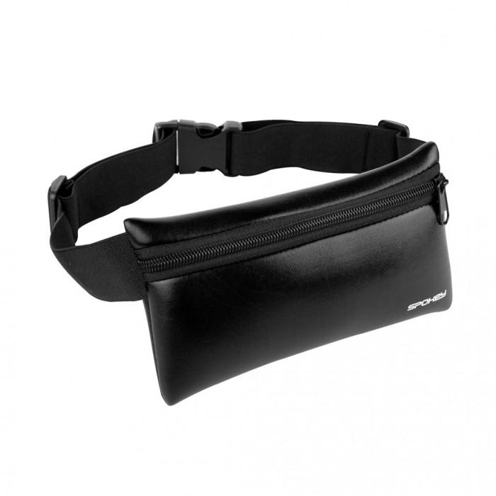 Juosmens krepšys Spokey HIPS BAG, juodas
