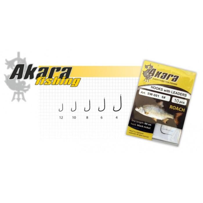 Kabliukai Su Pavadėliu Akara Roach SW-001 BN S 4-12