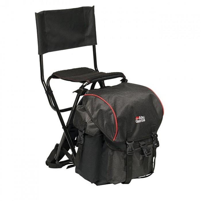 Kėdė AbuGarcia kėdė su atrama 58x40x50cm Black/Red