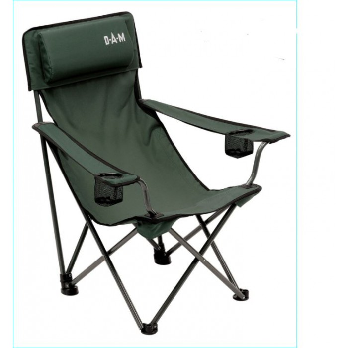 Kėdė DAM Foldable Chair with Back Padded 60x60x92cm