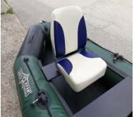 Kėdė valčiai minkšta su sukimo mechanizmu