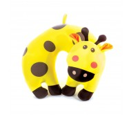 Kelioninė pagalvėlė vaikams Spokey BAMBINI, geltonas