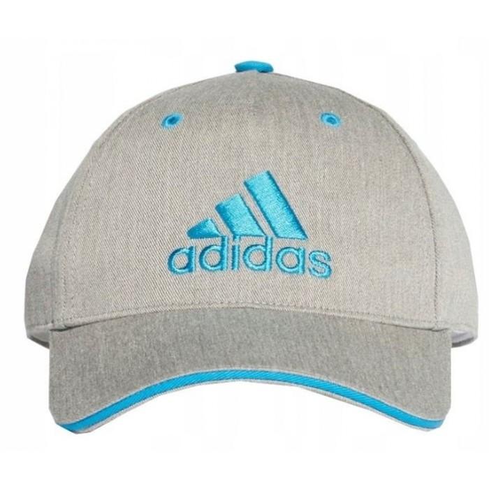 Kepurė adidas GRAPHIC DW4757 grey, sky-blue logo