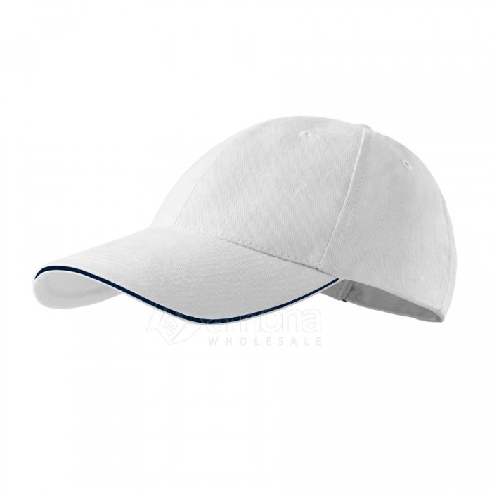 Kepurė ADLER 6P Sandwich White