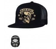 Kepurė BLACK HEART Devil Skull Trucker