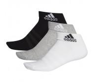 Kojinės adidas Cushioned Ankle 3PP DZ9364