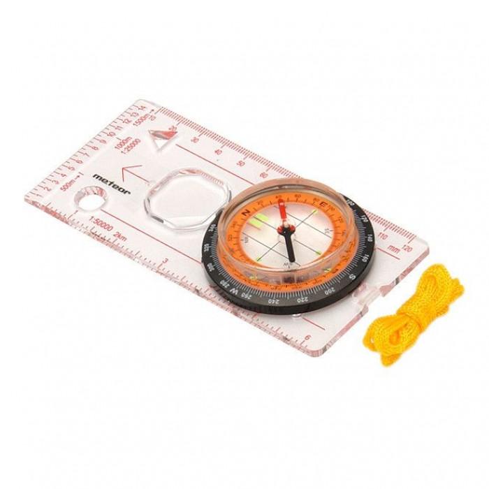 Kompasas su liniuote METEOR