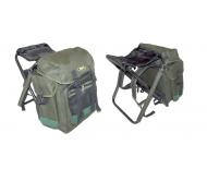 Krepšys-kėdė AKARA Outlander green 40 litrų