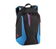Kuprinė Adidas BP juoda/mėlyna/rožinė