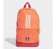Kuprinė adidas CLASSIC 3S FJ9268 orange-red, white logo