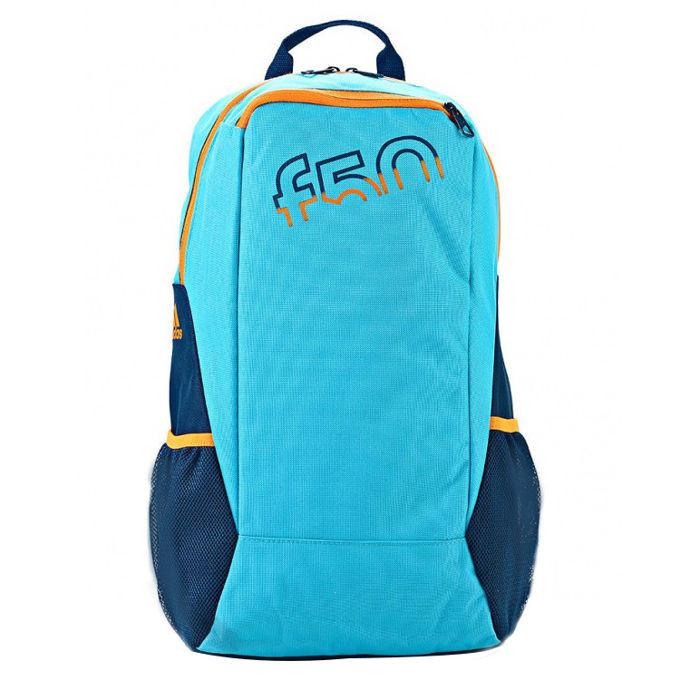Kuprinė Adidas F50 mėlyna/oranžinė