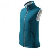 Liemenė moteriška VISION Softshell Turquoise