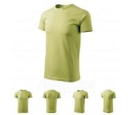 Marškinėliai ADLER Basic Mild Green, vyriški