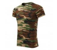 Marškinėliai ADLER Camouflage Brown