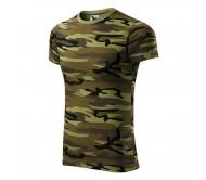 Marškinėliai ADLER Camouflage Green
